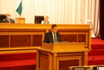 Ильшат Фазрахманов рассказал депутатам о последствиях засухи в сельском хозяйстве и мерах по их преодолению