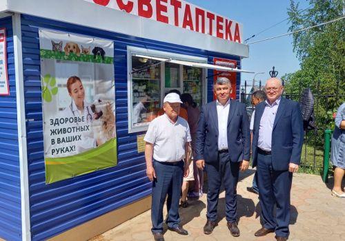 Рабочая поездка начальника Управления ветеринарии РБ Зиганшина Азата Салаватовича