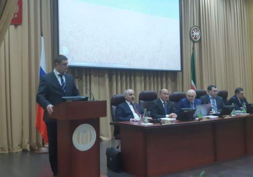 Ильшат Фазрахманов выступил на совещании Минсельхоза России в Казани