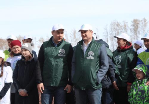 Ильшат Фазрахманов принял участие в акции «Зеленая Башкирия»