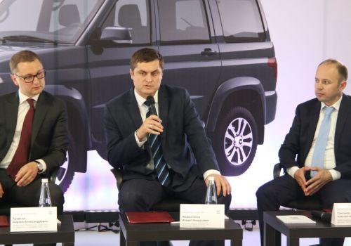 Минсельхоз республики и УАЗ договорились о сотрудничестве по поставке транспортной техники