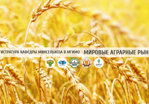 Магистратура МГИМО и Минсельхоза «Мировые аграрные рынки»