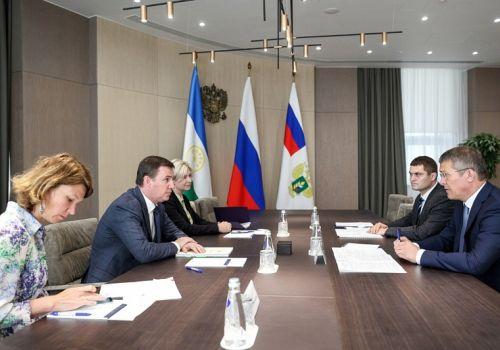 Радий Хабиров встретился с министром сельского хозяйства России Дмитрием Патрушевым