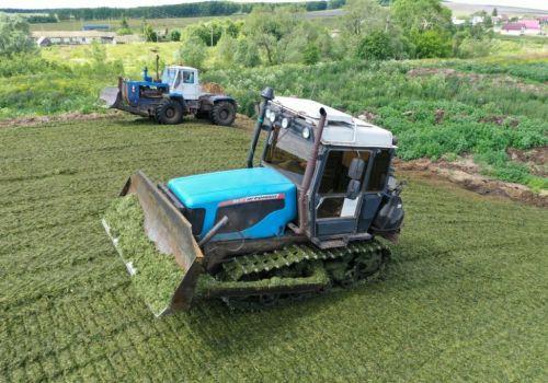 В республике заготовили 770 тыс. тонн сенажа