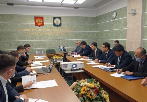 В Минсельхозе РБ прошла встреча с делегацией Узбекистана